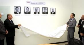 Foto - Inauguração da Galeria dos Presidentes