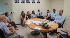 Foto - Primeira reunião da nova Diretoria
